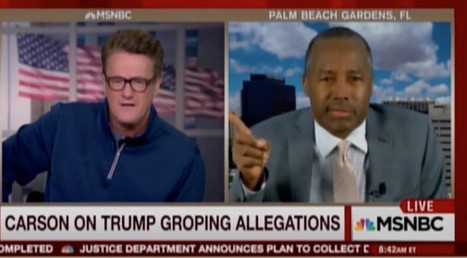 Carson Snaps Over Trump Groping Allegations: 'Can You Turn Her Mic Off?' (VIDEO) | Upsetment | Scoop.it