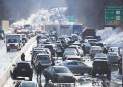Pennsylvania Turnpike turned into parking lot after 100-car pileup  | LibertyE Global Renaissance | Scoop.it