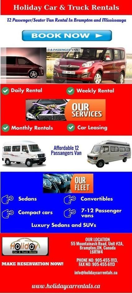 12 Passenger/Seater Van Rental In Brampton and Mississauga | 12 Seater Van Rental | Scoop.it