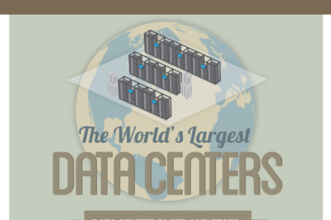 10 Biggest Data Centers in the World - BrandonGaille.com | Data centre news & insights | Scoop.it