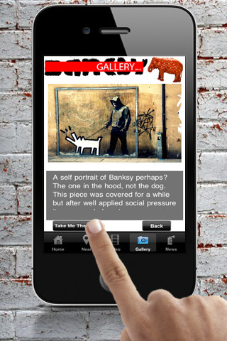 Banksy-Locations for iPhone, iPod touch, and iPad on the iTunes App Store | Appertunity's fun & creative iphone news | Scoop.it