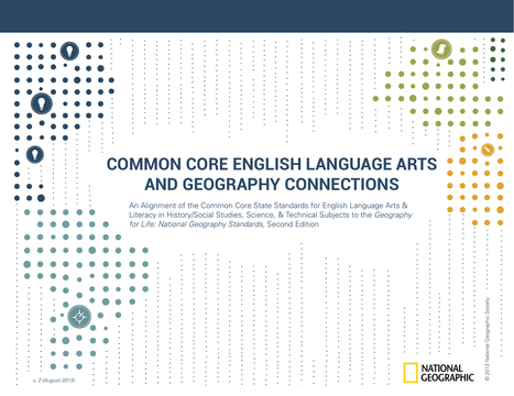 Common Core English Language Arts and Geography Connections | Mrs. Watson's Class | Scoop.it