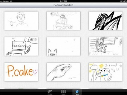 Doodle.ly and SketchBook Ink – Two iOS Apps That Will Give Your ... | iPads in Education Daily | Scoop.it