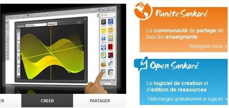 Sankoré : ressources numériques | TICE, Web 2.0, logiciels libres | Scoop.it