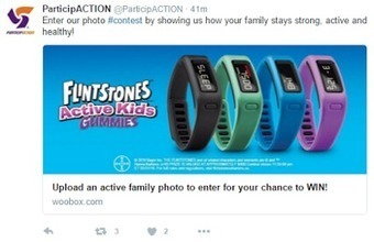 Hey ParticipACTION, Kids Need Activity, Not Activity Trackers, Food, Not Candy Vitamins | Weight Loss News | Scoop.it