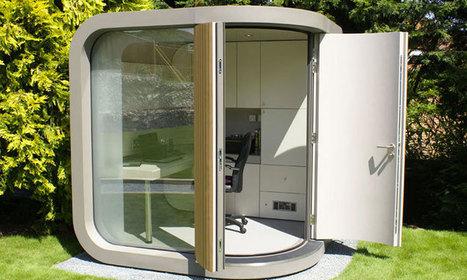 10 idées de bureaux insolites pour travailler chez vous encore mieux qu'à votre bureau | Life@work | Scoop.it