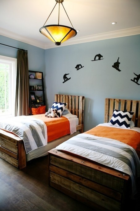 Boys bedroom from pallets | Recyclart | DIY | Scoop.it