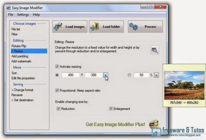Easy Image Modifier : un logiciel pratique pour traiter ses photos rapidement et facilement | TIC et TICE mais... en français | Scoop.it