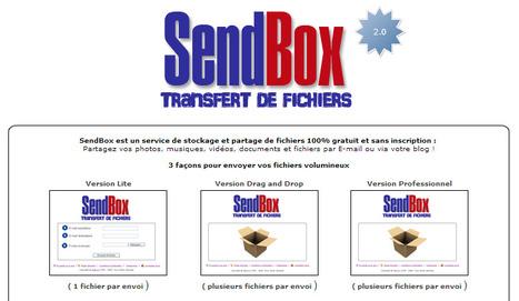 SENDBOX - Envoi de gros fichiers - Recevoir ou envoyer de gros fichiers joints et des fichiers lourds et volumineux par email | netnavig | Scoop.it