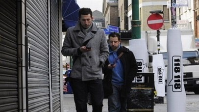 Texting While Walking Banned in New Jersey Town | Morning Radio Show Prep | Scoop.it
