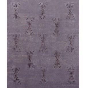 Rugsville Tibetan Silver Wool & Silk Rug 13055 - MODERN | Modern Area Rugs | Scoop.it