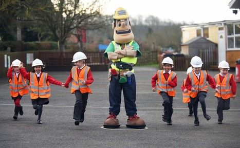 Pupils learn dangers of a #construction site | Workplace Health and Safety | Scoop.it