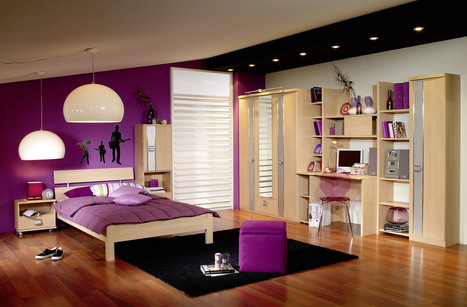 How to make a purple bedroom | Decoration | Scoop.it