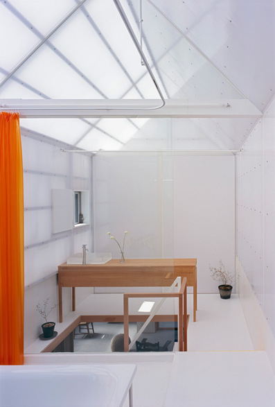 House in Yamasaki with rooftop sheds by Tato Architects | What Surrounds You | Scoop.it
