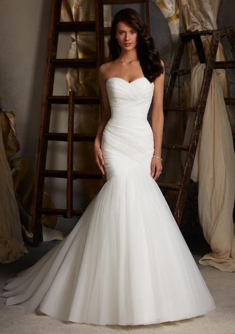 Mermaid Wedding Dresses | Fashion and Beauty | Scoop.it