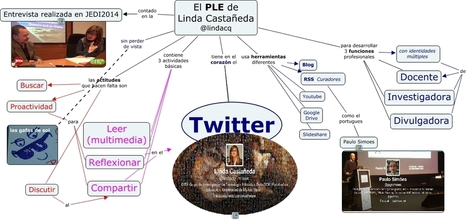 PLE de Lindacq - Como es el PLE de Linda Castañeda | Educacion, un Arte | Scoop.it