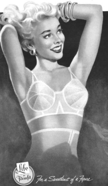 Vintage lingerie advertising | Lingerie Love | Scoop.it