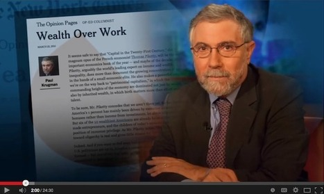 Paul Krugman Utterly Destroys Inequality Deniers and Piketty's Critics | Global Geopolitics & Political Economy | Scoop.it
