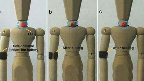 Self-healing battery withstands the rigors of wearable computing | The Future of Everything | Scoop.it