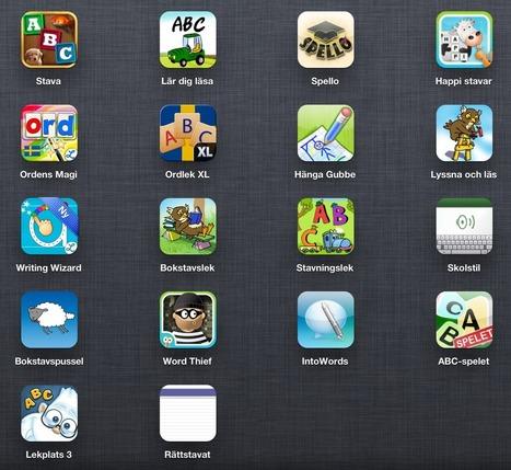 Appar för att öva skriva och stava | iPad i undervisningen | Scoop.it