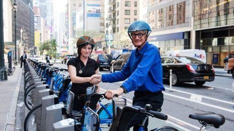 Paper bike helmet wins Dyson award - BBC News | Business Studies | Scoop.it