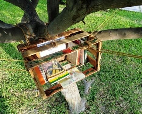 Arbolibros: Cultivando la lectura en los espacios públicos | La ciudad y sus bienes comunes | Scoop.it