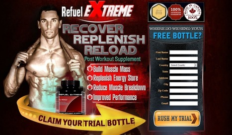 Refuel Extreme – Read Here First Before You Try It! | body building supplement for men | Scoop.it