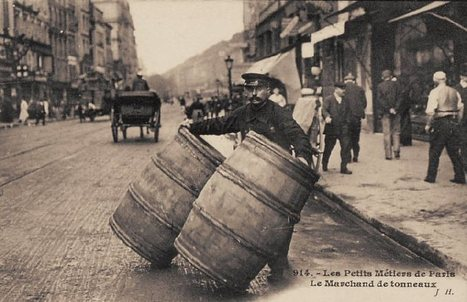 Les anciennes rues de Paris | les Petits Métiers de Paris | De plume et d'écran | Scoop.it