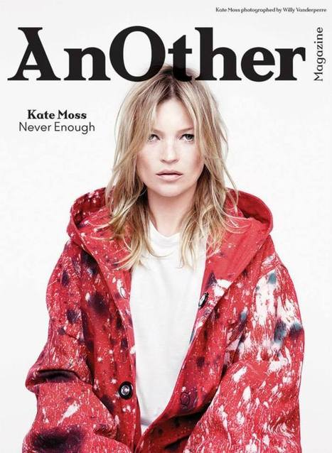 [covers] Kate Moss (x 4) for Another Magazine F/W 2014-2015 | Fashion & more... | Scoop.it