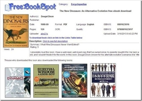 Best Sources To Download Free eBooks Online | PowerPoint Presentation | Skolbiblioteket och lärande | Scoop.it