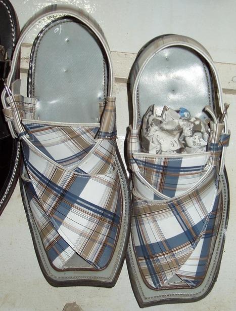 Check Print Balochi Chawat | Handmade Shoes | Scoop.it