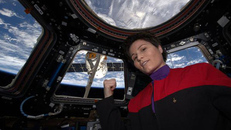 ISS astronaut takes the most epic 'Star Trek' selfie ever | ON-ZeGreen | Scoop.it