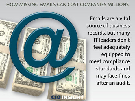 How Missing Emails Can Cost Companies Millions | Information Governance & eDiscovery Snapshot | Scoop.it