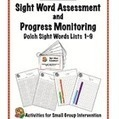 Dolch Sight Word Assessment and Progress Monitoring Materials | Online Resources (Classroom) | Scoop.it
