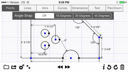 (iOS) Technisches Zeichenprogramm GraphPad R4 iPhone, GraphPad R6 iPad (kurzfristig kostenlos) - mydealz.de