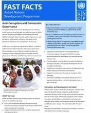 Fast Facts: Anti-corruption and Democratic Governance | UNDP | NGOs in Human Rights, Peace and Development | Scoop.it