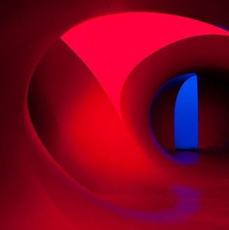 Immersed in the Kaleidoscopic Colours of Giant Luminaria #art #light #colour #installation | Luby Art | Scoop.it