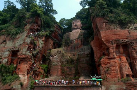 Leshan Giant Buddha (Dafo), China - Map, Facts, Location | Travel | Scoop.it