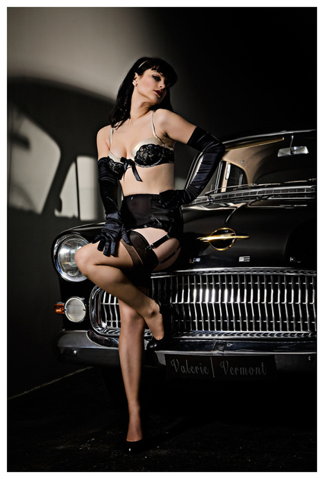 Düsseldorf's Own Pin Up Girl Valerie Vermont | Rockabilly | Scoop.it