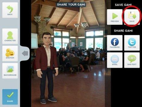Créer un reportage avec Tellagami et iMovie | Intégration du iPad au préscolaire primaire | Scoop.it