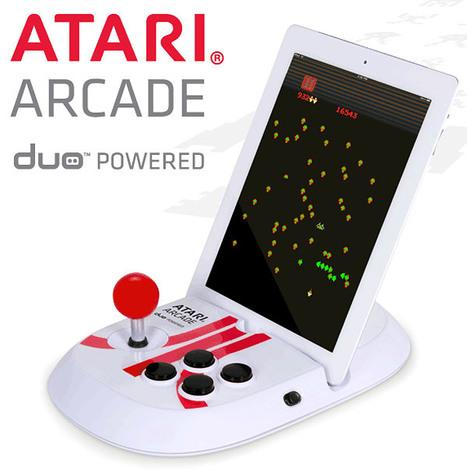 Atari Arcade Duo iPad Joystick Now Available   All Geeks   Scoop.it