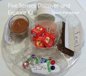 Five senses discover and explore kit | Five Senses | Scoop.it