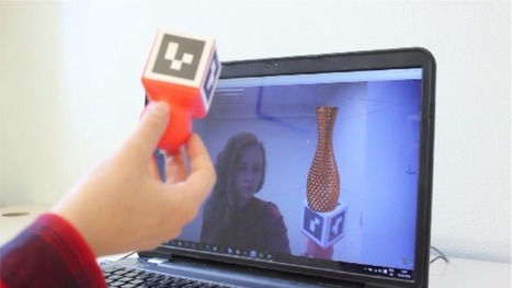 Augmented reality to enhance 3D printing | 3D Virtual-Real Worlds: Ed Tech | Scoop.it