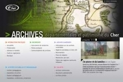Ouverture du site Web des Archives du Cher | GenealoNet | Scoop.it