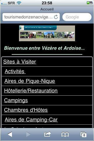 Expérience : l'Office de Tourisme de Donzenac teste les outils gratuits du net | Actualités du Limousin pour le réseau des Offices de Tourisme | Scoop.it