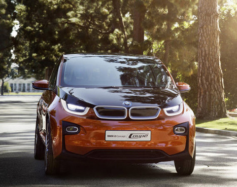 BMW i3 Coupe World Premiere - Video ~ Grease n Gasoline | new car release | Scoop.it