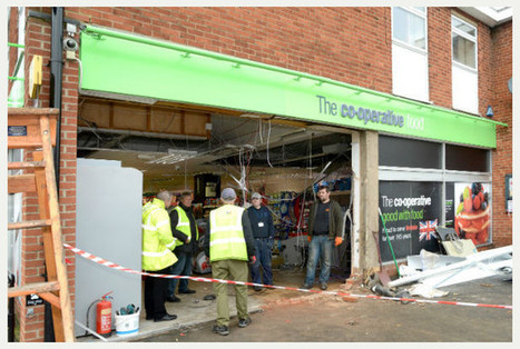 JCB gang strike for fourth time - stealing cash machine from Sapcote Co-Op - Leicester Mercury | Earthmoving & Compaction | Scoop.it