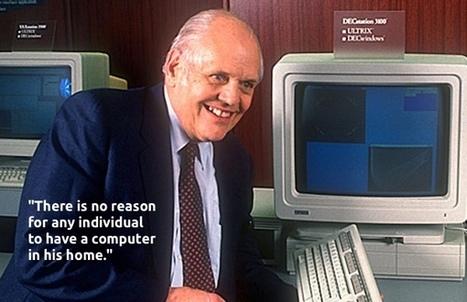 L'innovation se crée dans les erreurs de prédiction des experts | Lecture(s) en réseau | Scoop.it