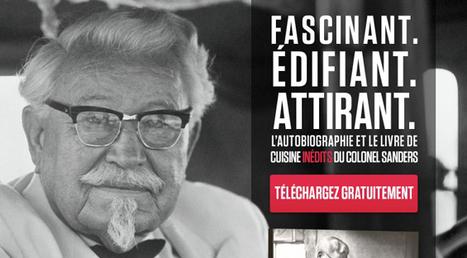 KFC France propose un livre gratuit sur Facebook   Comestible.fr   Actualité de l'Industrie Agroalimentaire   agro-media.fr   Scoop.it