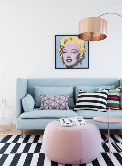 Pastel pop art | PLANETE DECO a homes world | décoration interieure | Scoop.it
